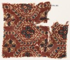 Textile fragment with pointed ovals and rosettes (EA1990.981)