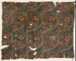 Textile fragment with tendrils, flowers, and leaves (EA1990.995)
