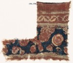 Textile fragment with floral shapes (EA1990.998)