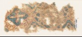 Textile fragment with quatrefoils and tendrils (EA1990.1000)