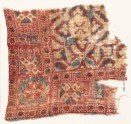 Textile fragment with quatrefoils, stars, and rosettes (EA1990.1011)