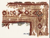 Textile fragment with medallions and zigzags (EA1990.1050)