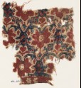 Textile fragment with interlacing tendrils, leaves, and flowers (EA1990.1066)