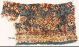 Textile fragment with floral patterns (EA1990.1067)