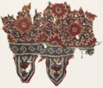 Textile fragment with medallions, interlace, and tabs (EA1990.1075)