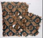 Textile fragment with lobed, elongated hexagons (EA1990.1100)