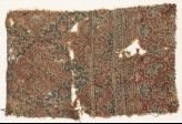 Textile fragment with medallions and plants (EA1990.1108)