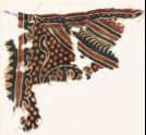 Textile fragment, possibly with part of a large medallion (EA1990.1113)