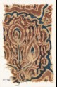 Textile fragment with stylized plants (EA1990.1127)