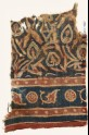 Textile fragment with stylized plants (EA1990.1130)