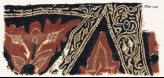 Textile fragment with stylized leaves, tendrils, and bunches of fruit (EA1990.1141)