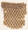 Textile fragment with leaves (EA1990.1170)