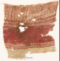 Textile fragment with bodhi leaves and possibly stylized trees (EA1990.1174)