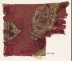 Textile fragment, possibly with buta