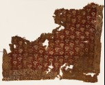 Textile fragment with flowers and vines (EA1990.1194)