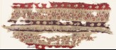 Textile fragment with bands of flowers (EA1990.1199)