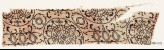 Textile fragment with circles, interlace, and tendrils (EA1990.1203)
