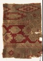 Textile fragment with geometric design (EA1990.1205)