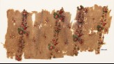Textile fragment with bands of flowers and berries (EA1990.1209)