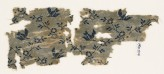 Textile fragment with birds and flowers (EA1990.1214)