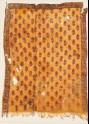 Textile fragment with shapes, possibly grapes