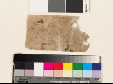 Fragmentary drawing of crouching camel and seated hare (EA1992.103)