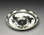 Cizhou type dish with floral decoration (EA1992.109)