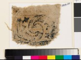 Textile fragment with curved leaves (EA1993.120)