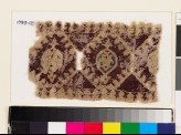 Textile fragment with linked octagons and medallions (EA1993.121)
