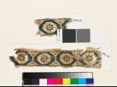 Textile fragment with octagons and rosettes (EA1993.128)