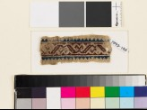 Textile fragment with S-shapes and Z-shapes (EA1993.148)