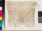 Textile fragment with wave pattern, probably from a sash