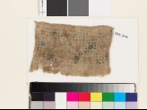 Textile fragment with squares, probably from a sash (EA1993.204)