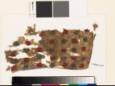 Textile fragment with stars and triangles (EA1993.220)