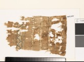 Textile fragment with geometric pattern and chevrons (EA1993.235)