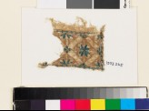 Textile fragment with rosette, diamond-shape, and square (EA1993.265)