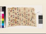 Textile fragment with tulips, leaves, and stems (EA1993.270)