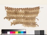 Textile fragment with stems and pairs of leaves (EA1993.307)