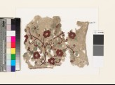 Textile fragment with floral spray (EA1993.311)