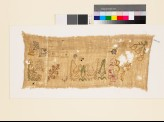 Sampler with flowering plants, birds, trees, trefoils, and S-shapes (EA1993.322)