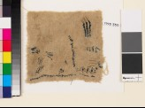Textile fragment with chevrons and irregular lines (EA1993.330)
