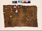 Sampler with chevrons, diamond-shapes, and geometric shapes (EA1993.346)