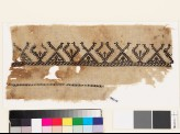 Textile fragment with stylized birds and trees (EA1993.41)