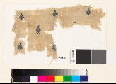 Textile fragment with diamond-shaped medallions and palmettes (EA1993.51)