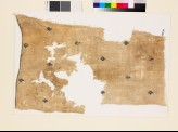 Textile fragment with diamond-shaped medallions and palmettes (EA1993.54)