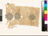 Textile fragment with three medallions (EA1993.72)