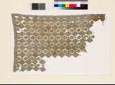 Textile fragment with diamond-shapes and geometric patterns (EA1993.75)