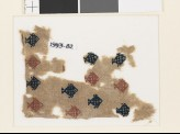 Textile fragment with diamond-shaped fish (EA1993.82)