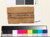 Textile fragment with pseudo kufic inscription (EA1993.94)