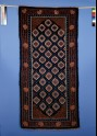 Khaden, or mat, with flowers and trellis pattern